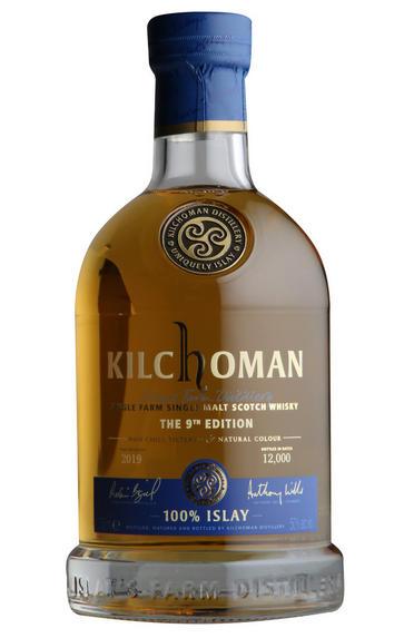 Kilchoman, 100% Islay, 9th Edition, Single Malt Scotch Whisky (50%)