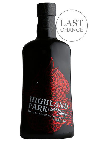 Highland Park, Twisted Tattoo, 16-Year-Old, Single Malt, (46.7%)