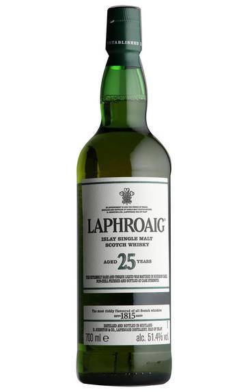 Laphroaig 25-Year-Old, 2019 Release Single Malt Scotch Whisky, (51.4%)