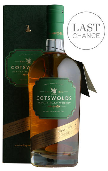 The Cotswold Distillery, Peated Cask Btd 2019, English Whisky 59.3%