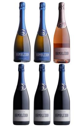 Hambledon Mixed Case, 2xPremière Cuvée, 3xClassic Cuvée 1xCuvée Rosé