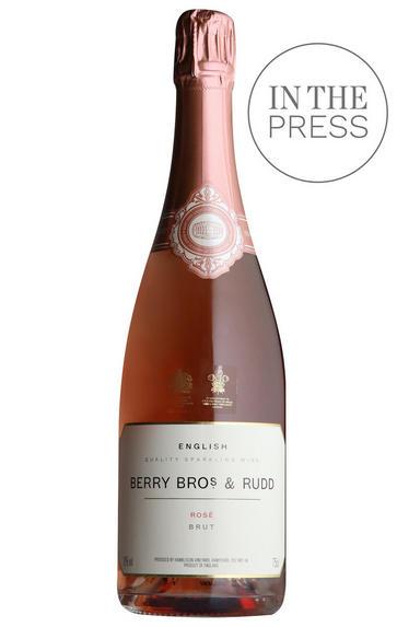 Berry Bros. & Rudd English Sparkling Rosé by Hambledon, Hampshire, England