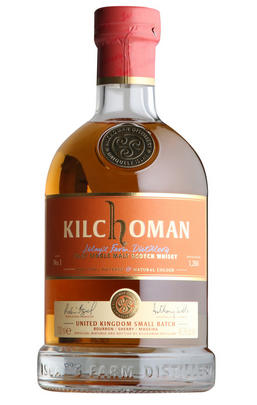 Kilchoman, UK Small Batch No. 1, Islay, Single Malt Whisky, (48.3%)