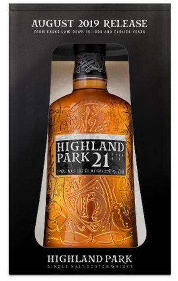 Highland Park, 21-Year-Old, Bottled 2019, Single Malt Whisky, (46%)