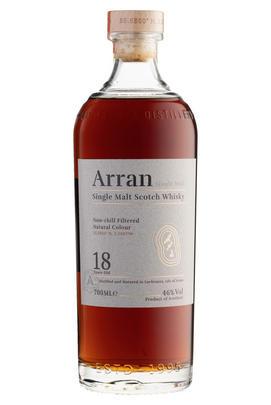 Arran, 18-Year-Old, Relaunch, Btd 2019, Single Malt Whisky, (46%)
