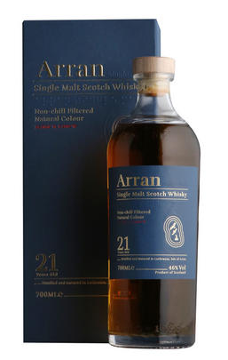 Arran, 21-Year-Old, Relaunch, Btd 2019, Single Malt Whisky, (46%)