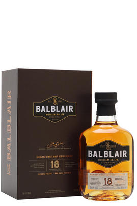 Balblair, 18-Year-Old, Highlands, Single Malt Scotch Whisky, (46%)