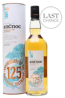 AnCnoc, 16-Year-Old, Cask Strength, 125th Anniversary, Whisky, (56.3%)