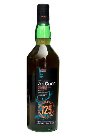 AnCnoc, Peat Ltd Edition, 40.0 PPM, 125th Anniversary, Whisky, (46%)