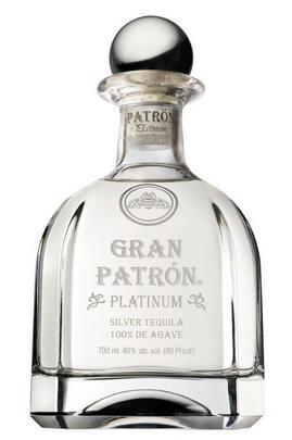 Gran Patrón, Platinum, Silver Tequila, Mexico (40%)