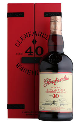 Glenfarclas, 40-year-old, Speyside, Single Malt Scotch Whisky, (43%)