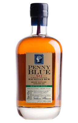 Penny Blue, XO Single Estate, Mauritian Rum, Batch No 007 (41.8%)