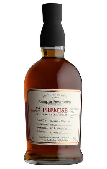 Foursquare, Premise, Bourbon and Sherry Casks, Barbados Rum (46%)