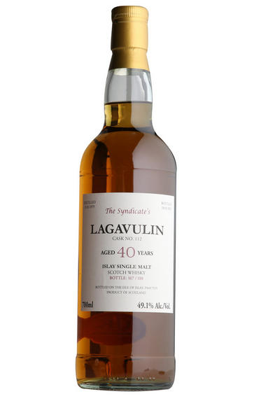 Lagavulin The Syndicate 40-year-old (btd 2019) Single Malt Whisky 49.1%