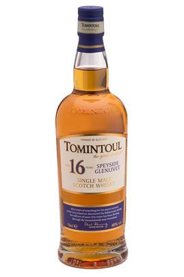 Tomintoul, 16-year-old, Speyside, Single Malt Scotch Whisky (40%)