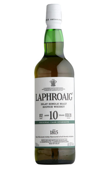 Laphroaig, 10-Year-Old, Batch 12, Cask Strength, Islay, Single Malt Scotch Whisky (60.1%)