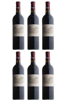 Château Lafite Rothschild, Vertical (1995, 2000, 2003, 2009, 2010, 2015), Six-bottle Assortment Case