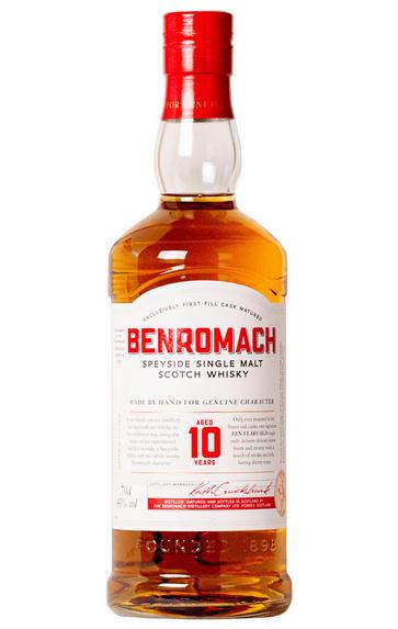Benromach, 10 Year-old, Speyside, Single Malt Scotch Whisky (43%)