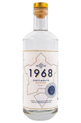 The Portsmouth Distillery, 1968, White Rum, England (41%)
