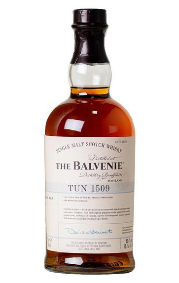 Balvenie, Tun 1509, Batch 7, Speyside, Single Malt Scotch Whisky (52.4%