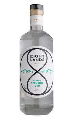 Eight Lands Organic Speyside Gin (46%)
