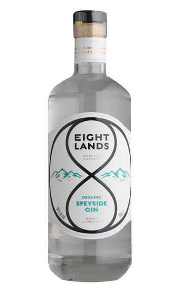 Eight Lands Organic Speyside Gin (46%)