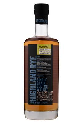 Arbikie, Highland Rye, Batch 2, Single Grain Scotch Whisky (46%)