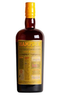 Hampden Estate, 8-Year-Old, Rum, Jamaica (46%)
