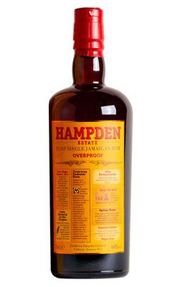 Hampden Estate, Overproof, Rum, Jamaica (60%)