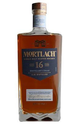 Mortlach, Distillers Dram, Aged 16- Years, Single Malt Whisky, (43.4%)