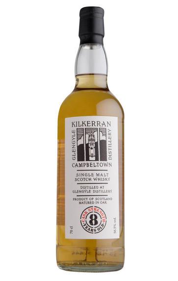 Kilkerran 8-Year-Old, Cask Strength Bottled 2018, Glengyle, 56.5%