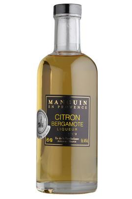 Citron Bergamote Liqueur, Maison Manguin, (40%)