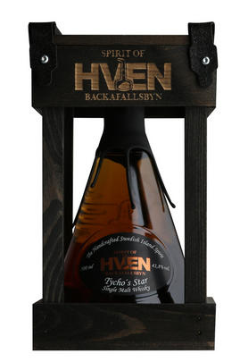 Spirit of Hven, Tycho's Star, Single Malt Whisky, Sweden, 41.8%