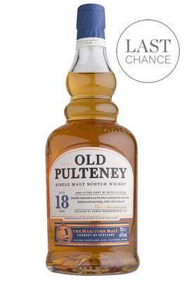 Old Pulteney 18-year-old, Highland, Single Malt Scotch Whisky, (46.0%)