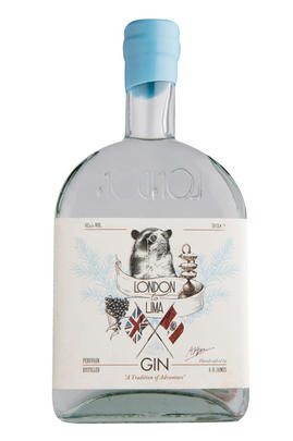 London to Lima Gin, Peru (42.8%)
