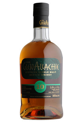 Glenallachie, 10-year-old Cask Strength, Batch 2, Whisky, 54.8%