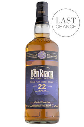 Benriach Dunder 22 Year-Old, Peated, Single Malt Whisky, 46.0%