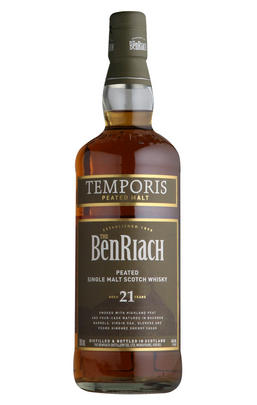 Benriach Temporis 21 Year-Old, Peated, Single Malt Whisky, 46.0%