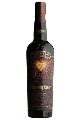 Compass Box Flaming Heart, Bottled 2018, Blended Malt Whisky, (48.9%)