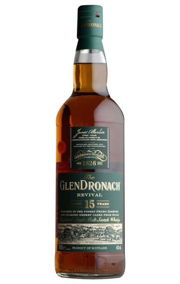 The Glendronach 15-Year-Old Revival Single Malt Scotch Whisky, 46%