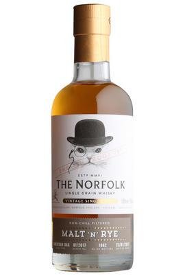 The Norfolk Malt 'n' Rye, Single Grain English Whisky, 45%