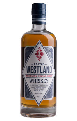 Westland, Peated, Single Malt Whiskey, USA (46%)