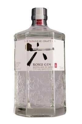 Suntory Roku Gin, Japanese Craft Gin, 43%