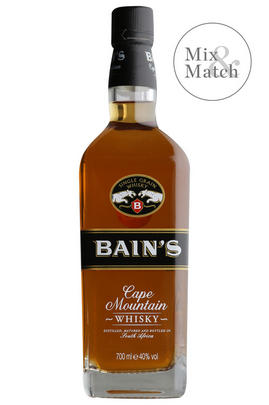 Bain's Cape Mountain, Single Grain, Whisky, South Africa (40%)