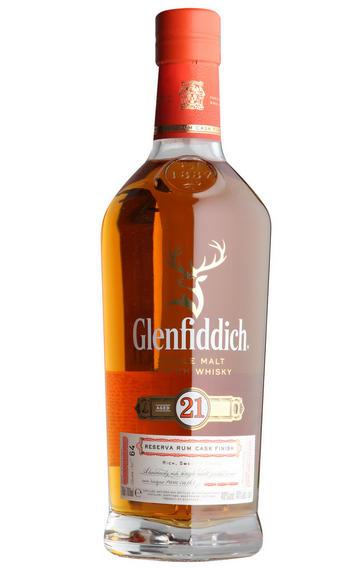 Glenfiddich Gran Reserva, Caribbean Rum Cask, 21-year-old (40%)