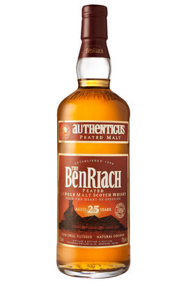 Benriach Authenticus 25 Year-Old, Single Malt Scotch Whisky, 46.0%