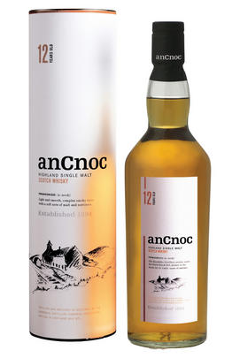 AnCnoc, 12-Year-Old, Highland, Single Malt Scotch Whisky (40%)