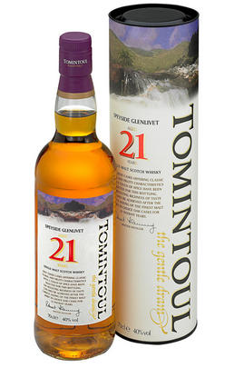 Tomintoul, 21-year-old, Speyside, Single Malt Whisky, 40.0%
