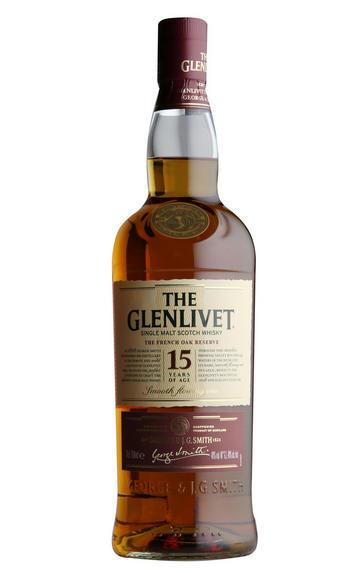 Glenlivet French Oak, 15-year-old, Speyside, Single Malt Whisky (40%)