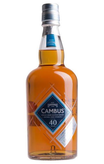 Cambus 40-Year-Old, Lowland, Single Grain, Bottled 2016, 52.7%